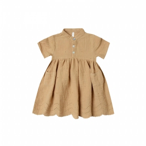Esme Dress Honey van Rylee & Cru