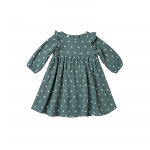 Nothern Star Papier Dress Spruce van Rylee & Cru