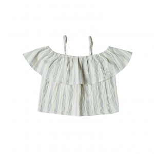 Off Shoulder Top Stripe van Rylee & Cru