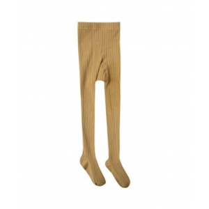 Solid Ribbed Tights Marigold van Rylee & Cru