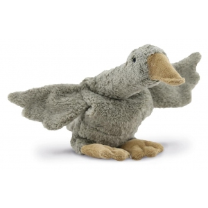 Cuddly Animal Goose Small Grey (Vegan) van Senger