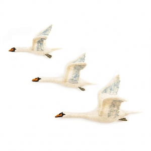 Flying Swan Trio van Sew Heart Felt