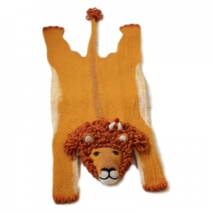 Vloerkleed Leopold The Lion van Sew Heart Felt