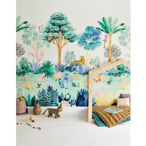 Classic Mural Jungle Colour van Sian Zeng