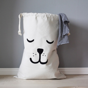 Fabric Bag Sleeping Bear van Tellkiddo