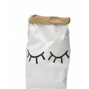 Paper Bag Closed Eye van Tellkiddo