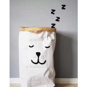 Paper Bag Sleeping Bear van Tellkiddo