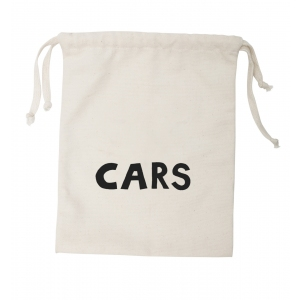 Small Fabric Bag Cars van Tellkiddo