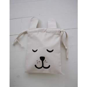 Small Fabric Bag Bunny van Tellkiddo