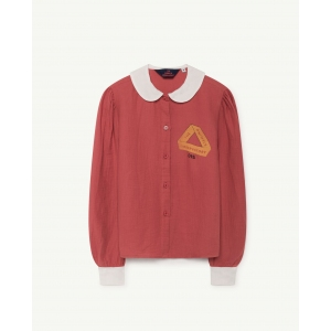 Kangaroo Kids Shirt Red Triangle van The Animals Observatory