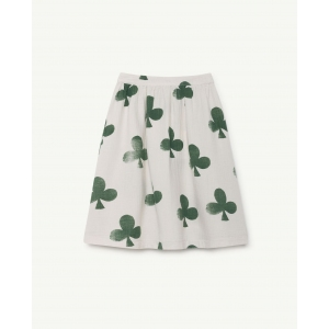 Sow Kids Skirt White Clovers van The Animals Observatory