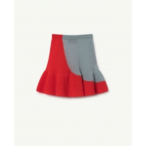 Swan Kids Skirt Soft Blue van The Animals Observatory