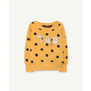 Bear Sweatshirt Yellow Polka Dots van The Animals Observatory