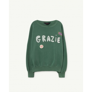 Big Bear Sweatshirt Green Grazie van The Animals Observatory