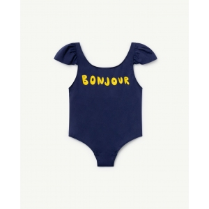 Octopus Swimsuit Navy Blue Bonjour van The Animals Observatory