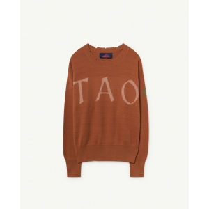 Tao Bull Sweater Deep Brown Tao van The Animals Observatory
