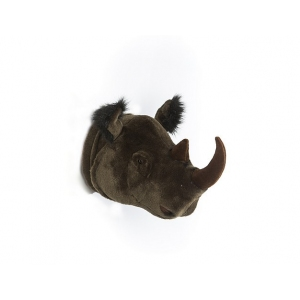 Dierenkop Neushoorn Michael van Wild And Soft