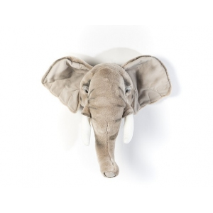 Dierenkop Olifant George van Wild And Soft