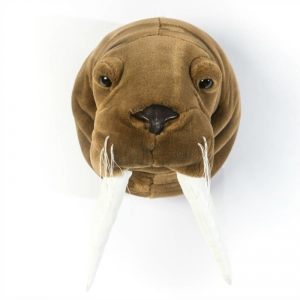 Dierenkop Walrus Jacob van Wild And Soft